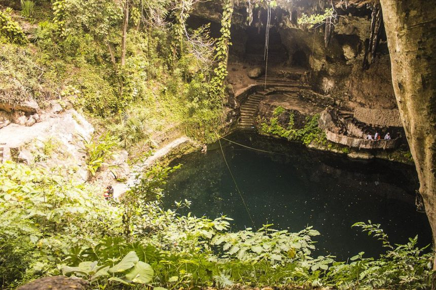 2-day yucatan itinerary - cenote zaci