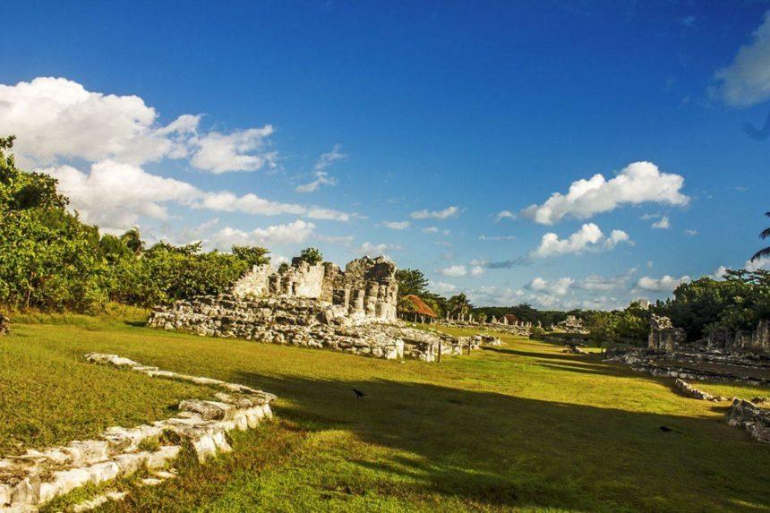 cancun mayan ruins el rey