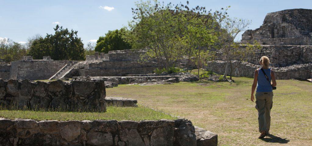 Mayan arqueological site Mayapan, Peninsula Yucatan, Mexico., Isabella,Biava