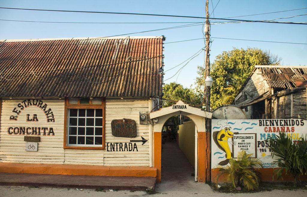 restaurant La conchita - El Cuyo
