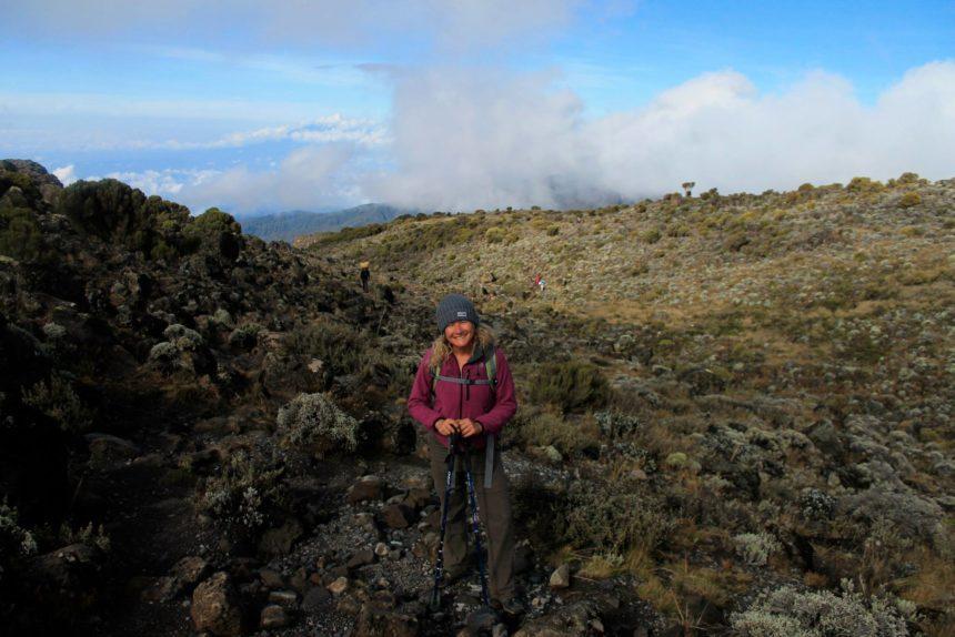 Me on the way to the kilimanjaro  -