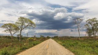 road to miguel colorado - driving in Mexico