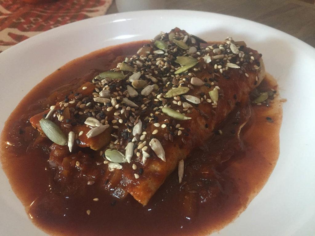 Vegan restaurant in Queretaro