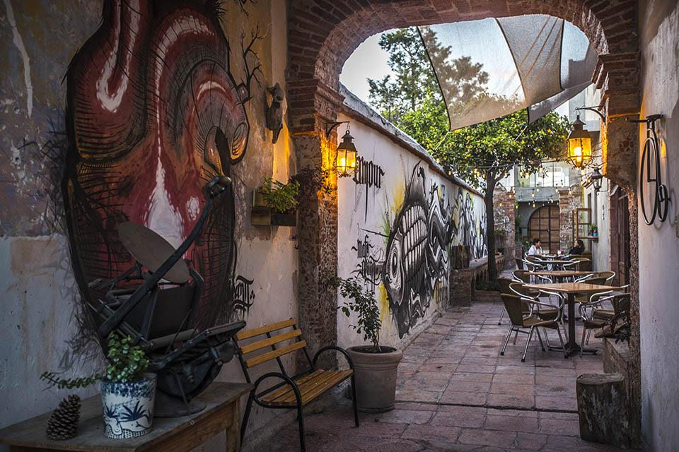 Vegan restaurant in Queretaro