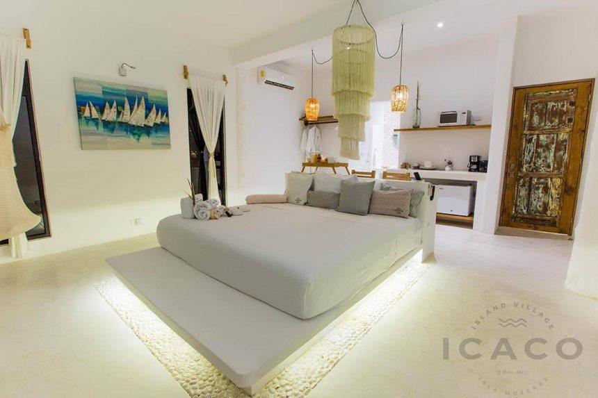 Hotel room in Isla Mujeres