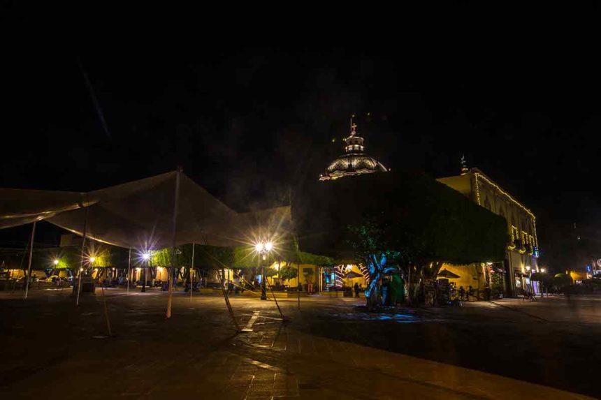 Queretaro by night