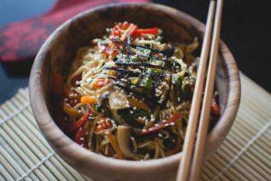 asian vegan food