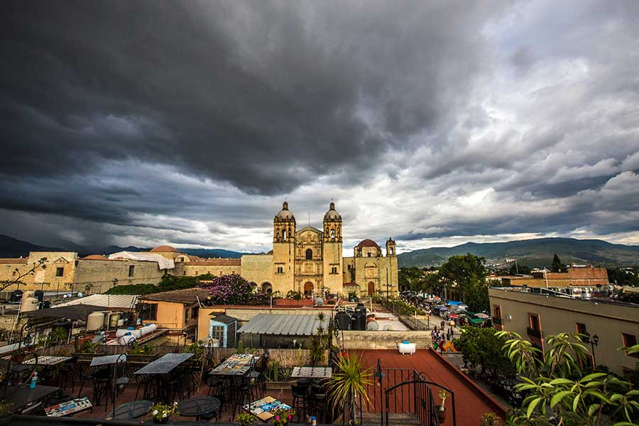 Oaxaca City - Templo de Santo domingo