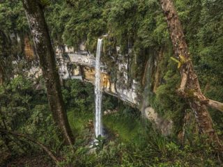 Chachapoyas Peru - Yumbilla Fall (second fal
