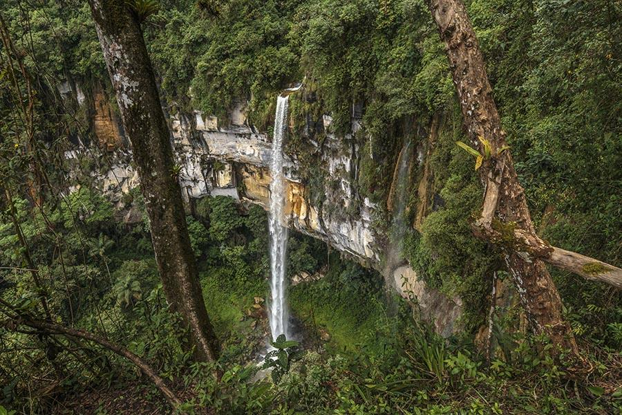 Chachapoyas Peru - Yumbilla Fall (second fal