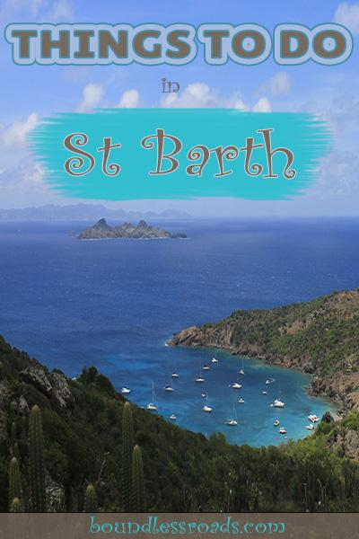 Things to do in St Barts - Boundless Roads