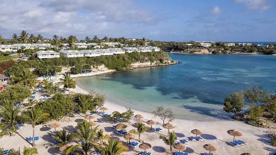 The veranda beach hotel- beach aerial view