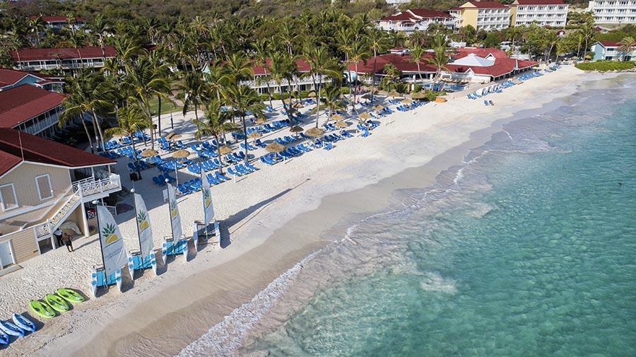 Pineaple Beach Resort Aerial