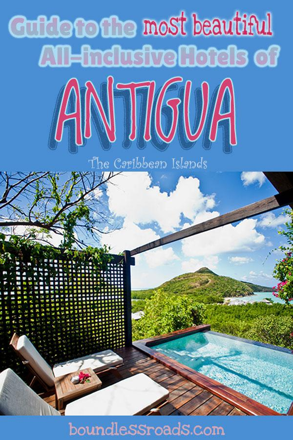 the most beautiful all inclusive hotels of Antigua