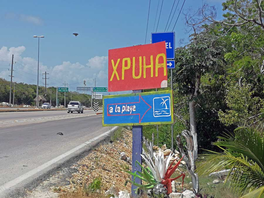 xpu-ha beach entrance