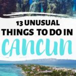 cancun beach and underwater museum