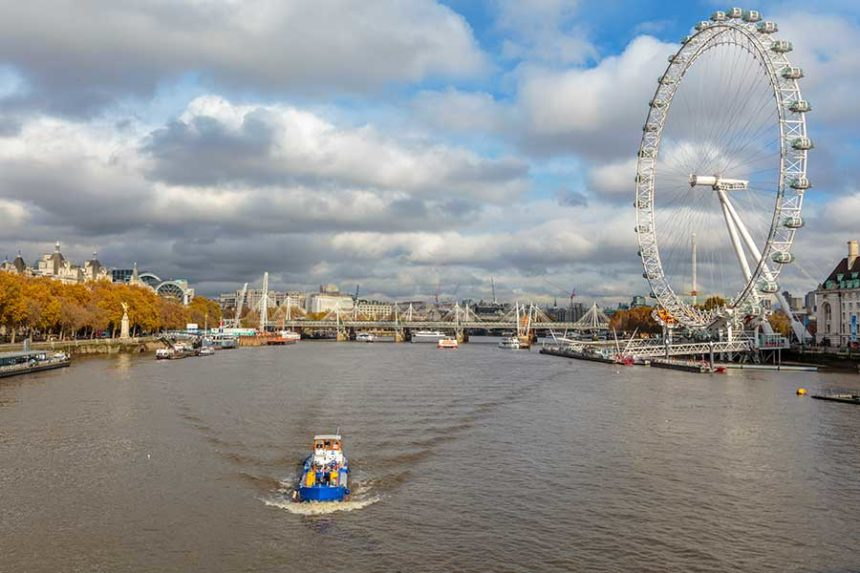London eye - London travel tips for first timers