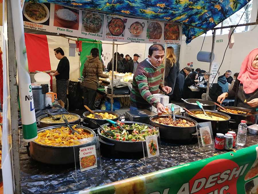 bricklane food market