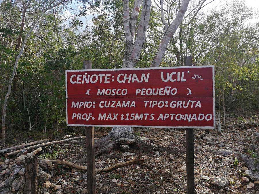 chan uchil cenote cuzama