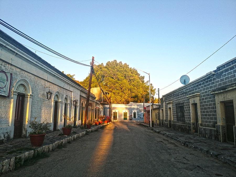 San ignacio town, a road