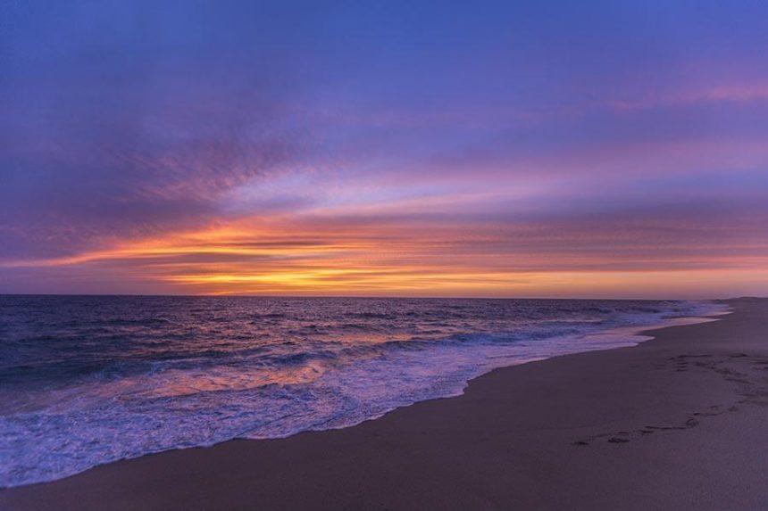 Todos Santos Sunset on the beach