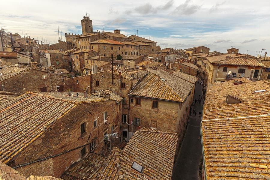 Volterra historical town