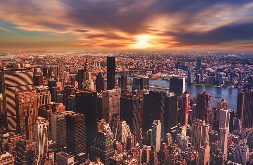 funny travel stories - newyork at sunset