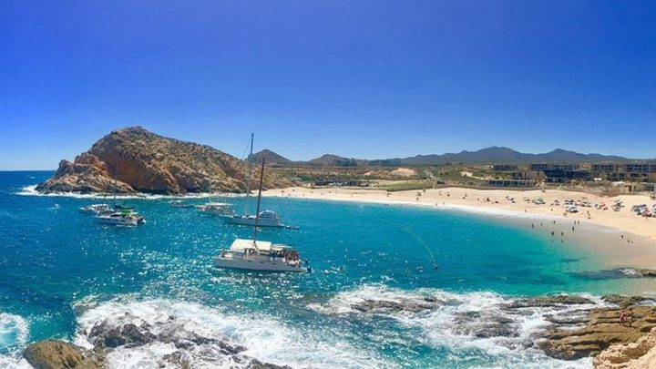 playa and turquise water