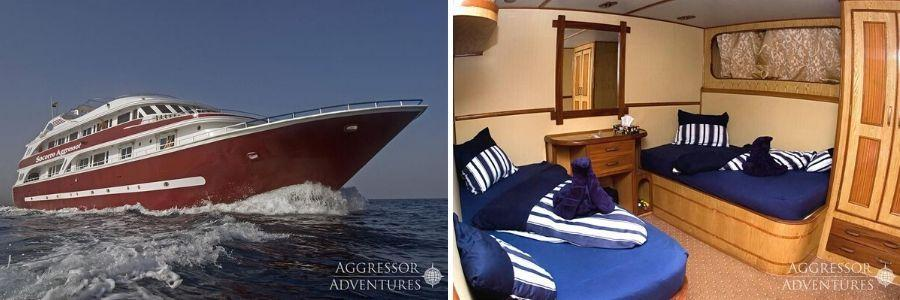 liveaboard boat internal and external