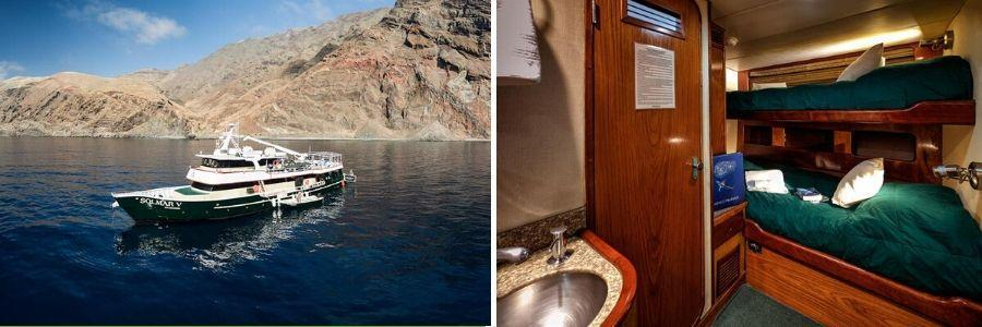 solmar boat out and inside