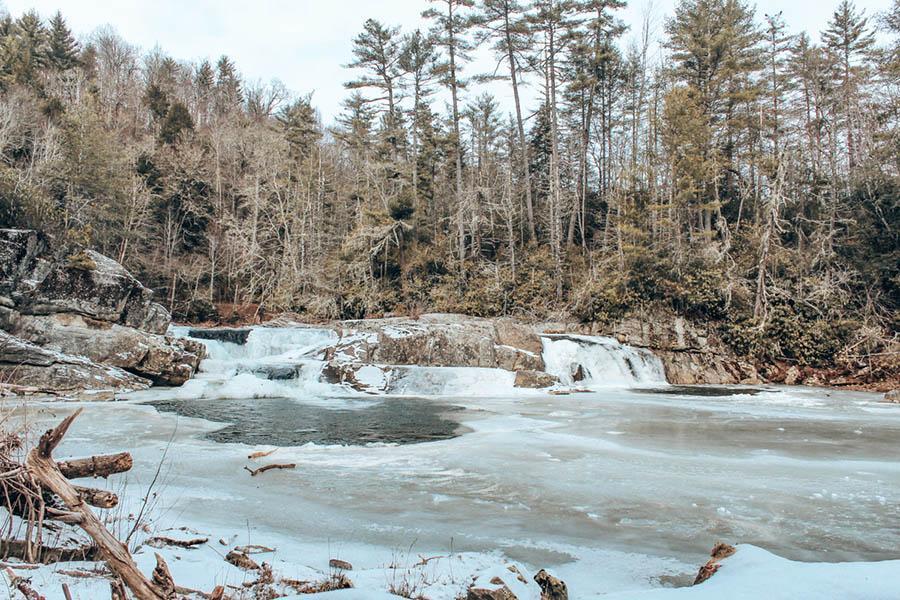 river in asheville