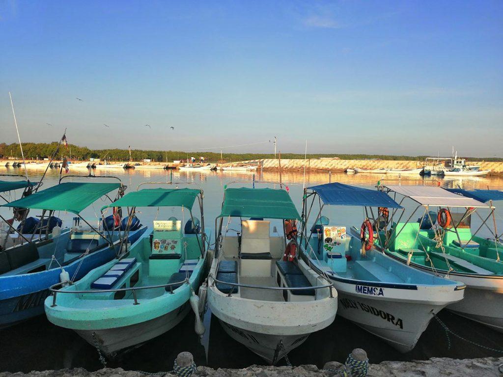 Fishing boat Chiquilà