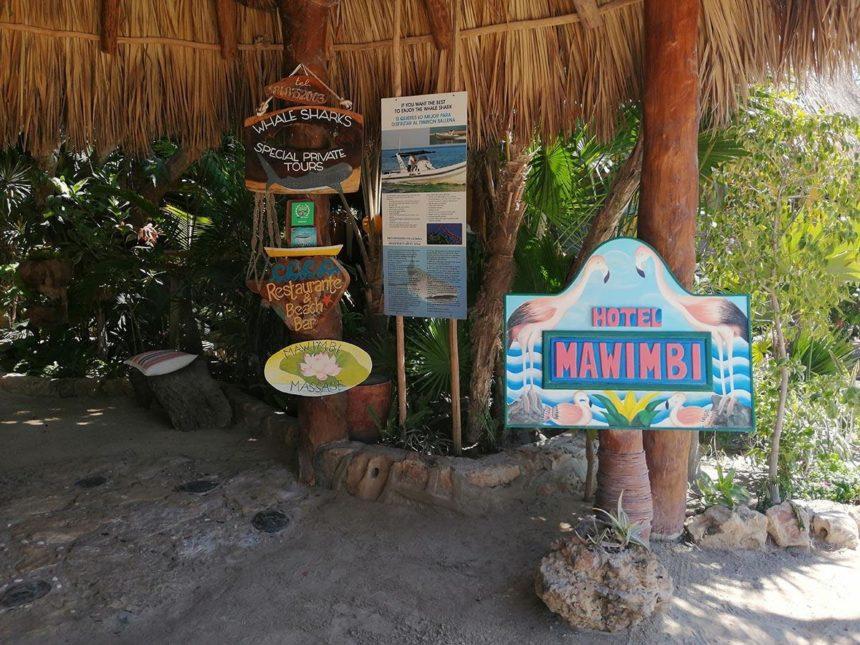 Isla Holbox Hotels - mawimbi entrance