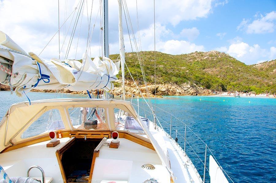Cala Granara - Spargi from the boat