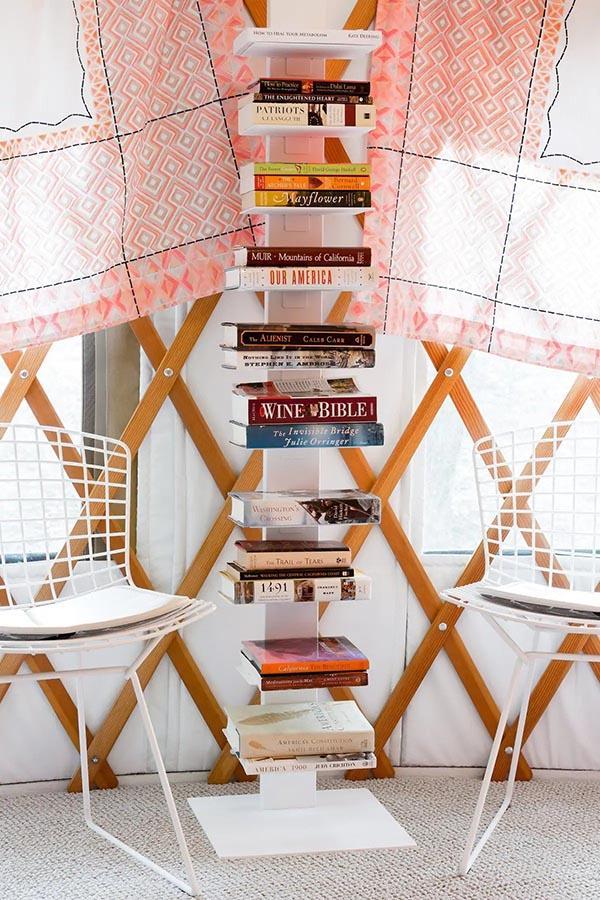 california glamping - library