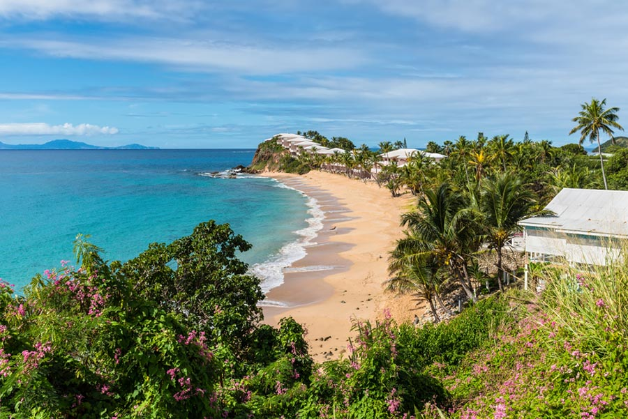 Curtain Bluff hotel overview