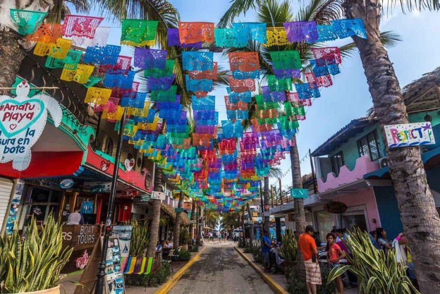 Sayulita main street- things to do in Sayulita