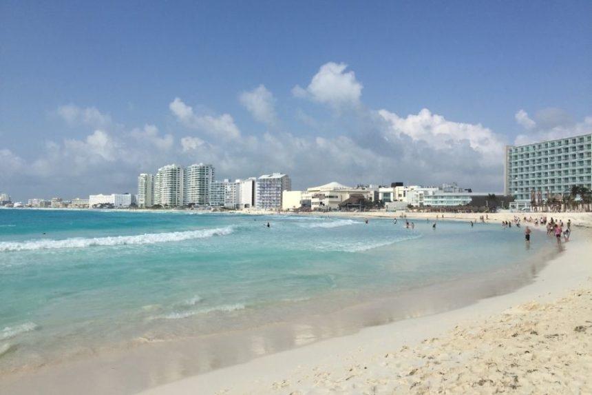 Cancun beach Punta Cancun