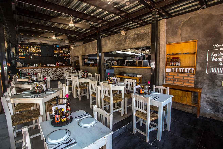 Sayulita restaurants - la rustica
