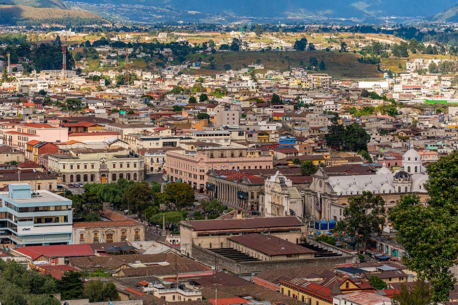 quetzaltenango - how to cross boarder from San Cristobal to Guatemala