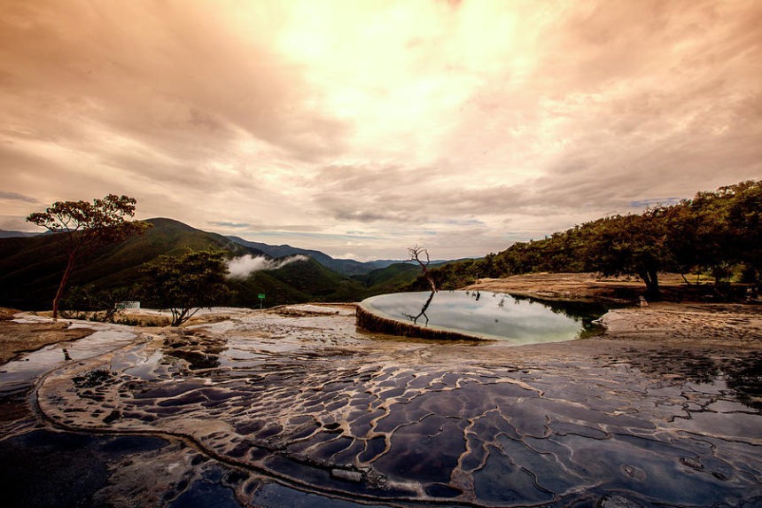 hierve el agua- Oaxaca