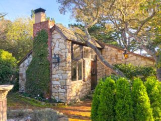 cottage external carmel by the sea airbnb
