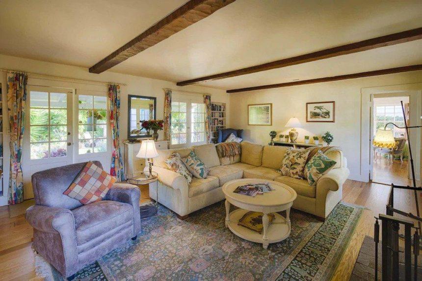 family house stylish  living room