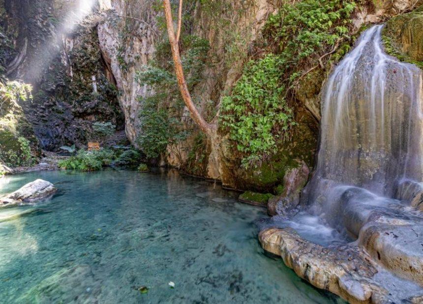 grutas de tolantongo la gloria waterfall