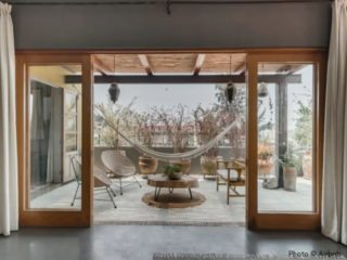 Oaxaca airbnb veranda