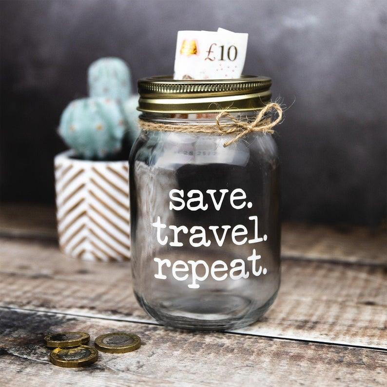 Adventure Fund // Money Jar // | Etsy