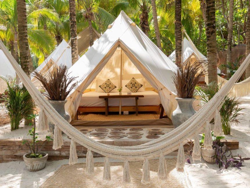 Cinco Glamping tent tulum