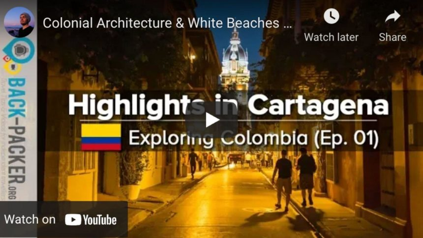 streets of cartagena colombia