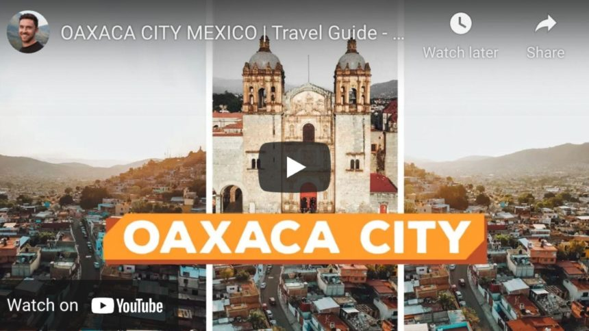 Oaxaca City cathedral