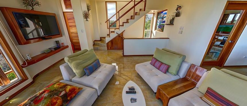 blue heron luxury house living rom
